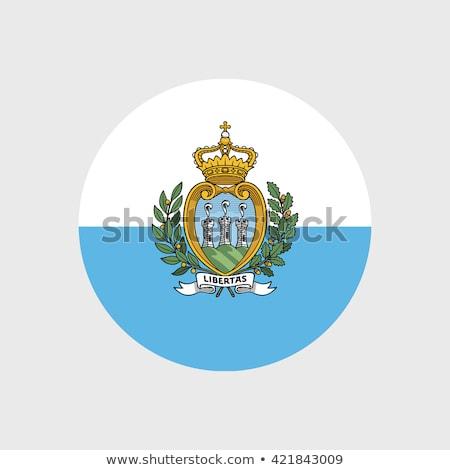 Сан-Марино флаг башни Flying Top колокола Сток-фото © ca2hill