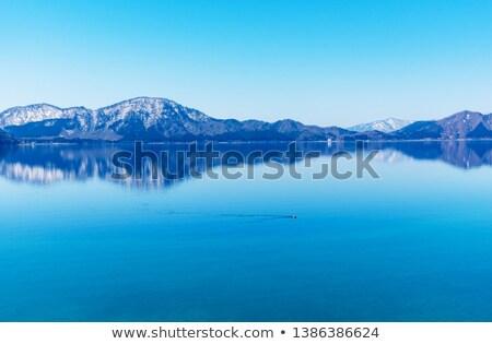 lake Tazawa in summer Stock photo © yoshiyayo
