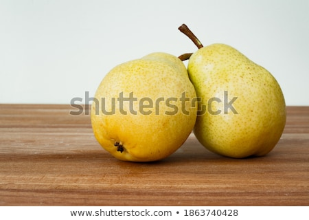 Two Ripe Pear Couple on White Stock photo © HaywireMedia