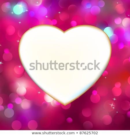 Сток-фото: Purple · сердцах · прибыль · на · акцию · вектора · файла