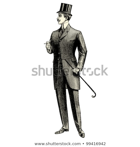 Man in a top hat Stock photo © photography33