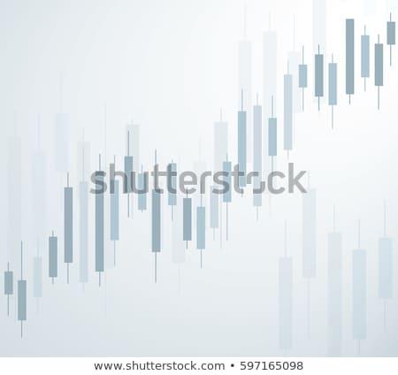 Chandelier graphique dollar numérique LCD panneau Photo stock © idesign