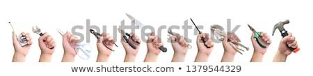 Clasp knife in hand Stock photo © ruzanna