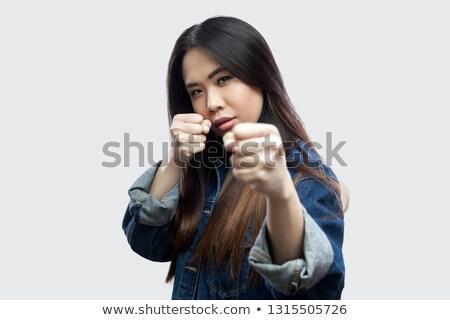 женщину · позируют · белья · Sexy - Сток-фото © dash