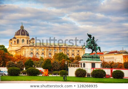 Monument dedicated to Archduke Charles of Austria Stock photo © AndreyKr