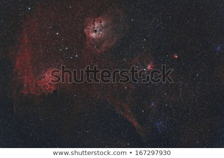 flaming star nebula stock photo © rwittich