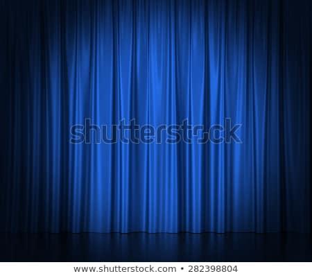 azul · etapa · luz · concerto · lâmpada · preto - foto stock © lightsource