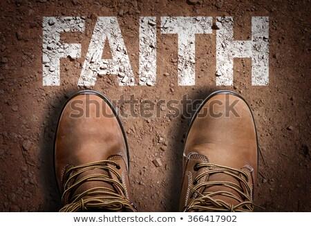 faith overcomes doubt stock photo © 3mc