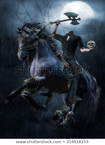 Headless Horseman Stock photo © cteconsulting