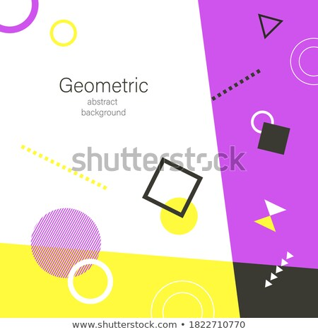 abstract colorful wave flayer with circles Stock photo © rioillustrator