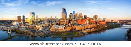 downtown nashville cityscape in the morning stock photo © andreykr