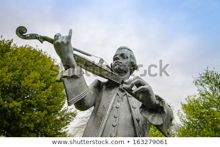 Mozart statue in Parade Gardens, Bath Stock photo © chrisdorney