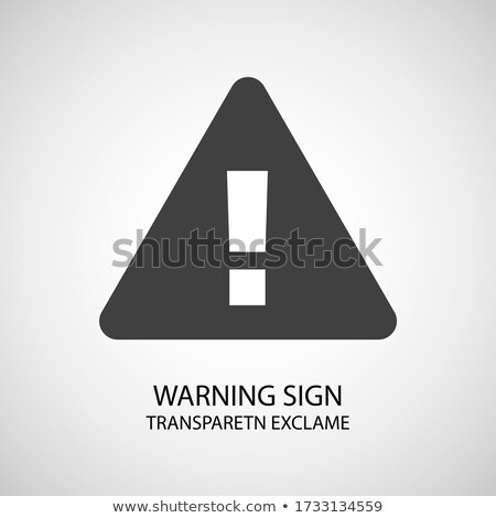 exclamation sign vector icons stock photo © burakowski