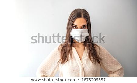 beleza · moda · cirurgia · plástica · mulher · olhos · cabeça - foto stock © pxhidalgo