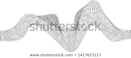 バイナリ · 波 · テクノ · ビジネス · 水 · 抽象的な - ストックフォト © kurhan