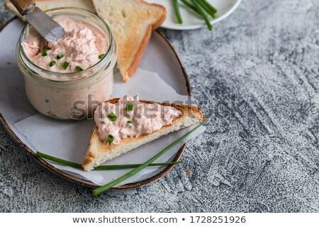 tuna and cheese spread Stock photo © M-studio