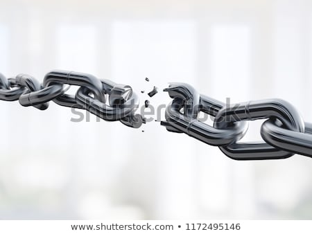 Broken Chain Stock photo © Lightsource