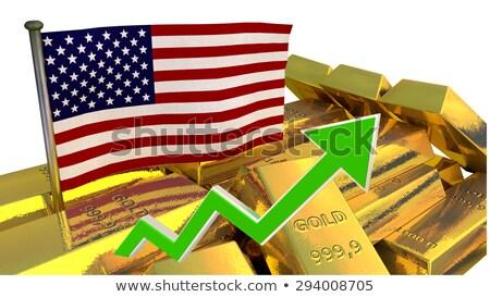 3D Golden dolla stock photo © 123dartist
