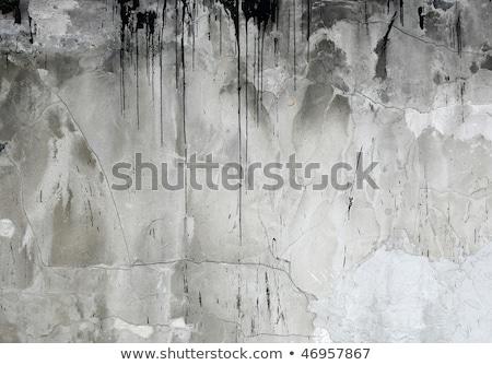 concrete wall with tar drips stock photo © stevanovicigor