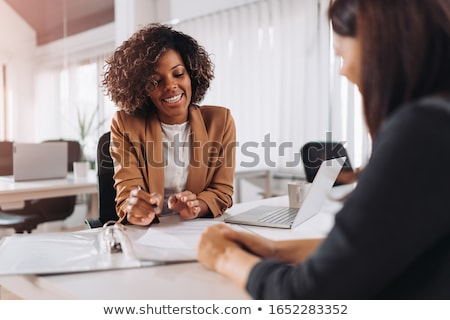 insurance agents stock photo © stevanovicigor
