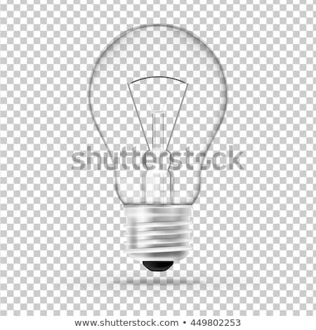 Tungstène ampoule feu résumé vitesse Photo stock © janaka