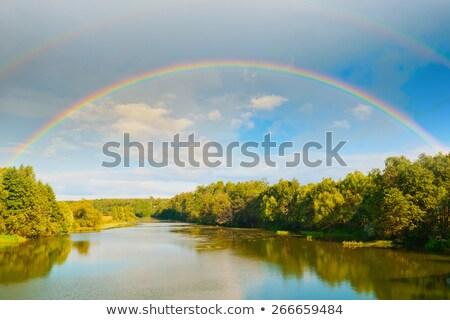 美しい · 虹 · オプティカル · 現象 · 効果 - ストックフォト © imaster
