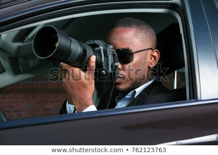 American spying Stock photo © dzejmsdin
