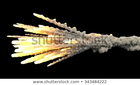 Raining Missiles Stock photo © xochicalco