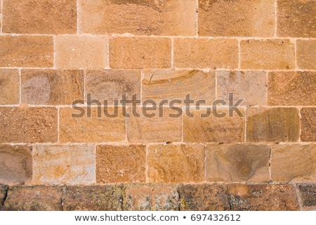 パターン 古い 歴史的 レンガ レンガの壁 高調波 ストックフォト © meinzahn