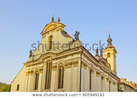 Церкви святой Прага окна статуя Windows Сток-фото © Sarkao