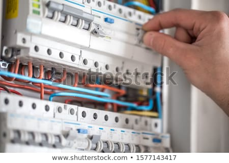 Electrical installation tools background stock photo © vavlt