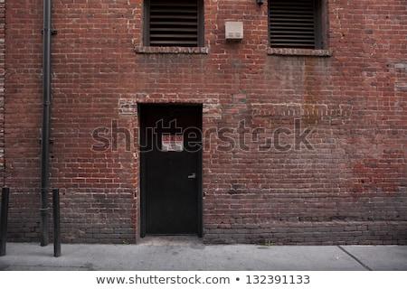 Colorful back alley Stock photo © gemenacom