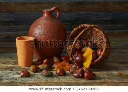 甘い 静物 暗い 装飾 秋 皮膚 ストックフォト © olandsfokus