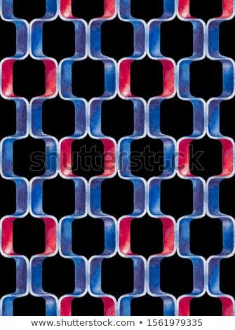 объект прямоугольный форма покрытый красный ткань Сток-фото © cherezoff