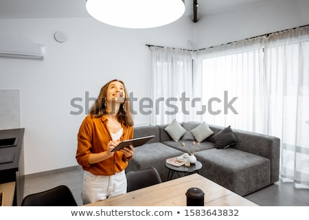 young woman out of control Stock photo © Sonar