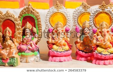 Goddess Lakshmi and Lord Ganesha in Dewali Stock photo © ziprashantzi