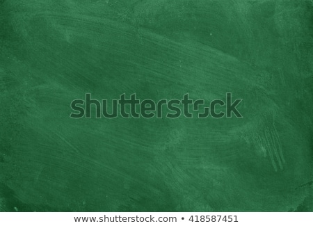 Zielone Tablica ilustracja odizolowany biały Zdjęcia stock © kovacevic
