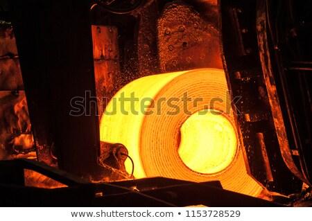 Resfriamento quente aço dentro planta negócio Foto stock © mady70