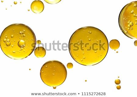 Olie druppels wateroppervlak kleur abstract achtergrond Stockfoto © jarin13