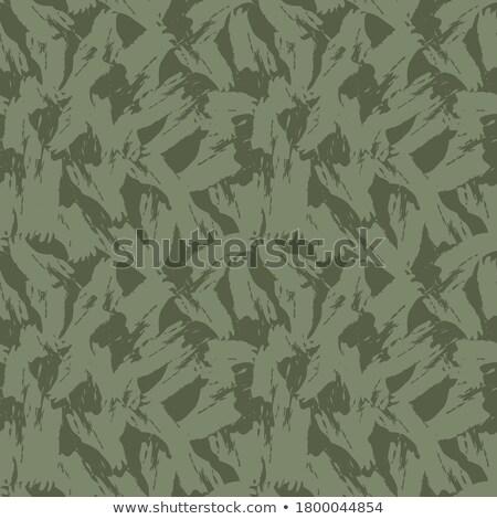 軍 緑 ブラシ テクスチャ 壁 抽象的な ストックフォト © Kheat