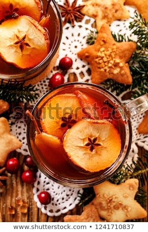 Séché fruits froid fraîches sweet mug Photo stock © yelenayemchuk
