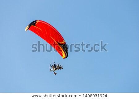 Motor kék ég égbolt felhők sport kék Stock fotó © smuki
