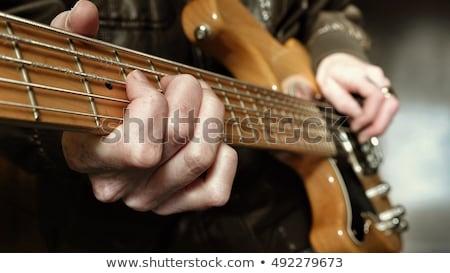 Left Handed Guitar Stock photo © Bigalbaloo