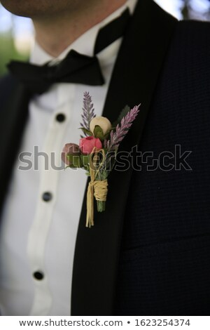Flower in the pocket of suit Stock photo © Paha_L