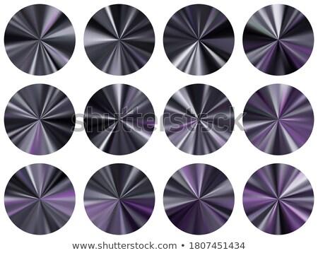 Medal Violet Vector Icon Design Stock photo © rizwanali3d