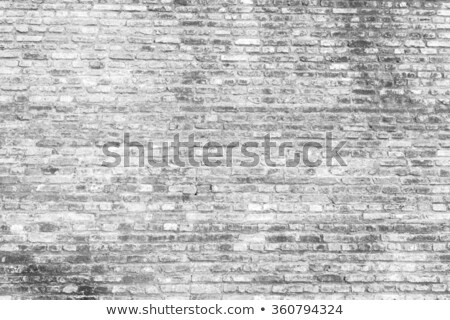 marco · gris · pared · de · ladrillo · pared · arte · espacio - foto stock © Paha_L