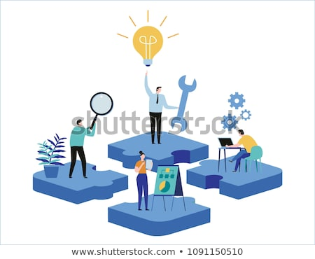 Upgrade Business Skills Stock photo © Lightsource