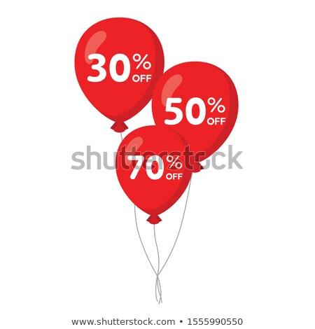 dia · dos · namorados · venda · cartaz · vermelho · corações · amor - foto stock © maxpainter