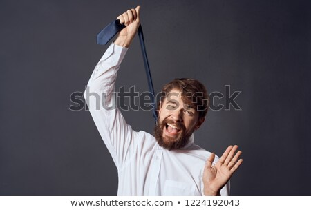 Man is trying to hang up himself Stock photo © zurijeta