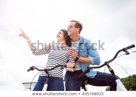 Emberek hobbi fehér hal gyerekek háttér Stock fotó © bluering